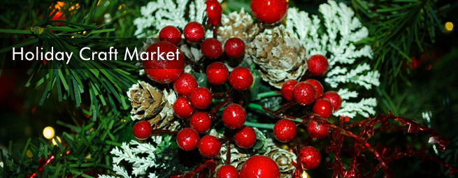 Holiday Craft Market Banner