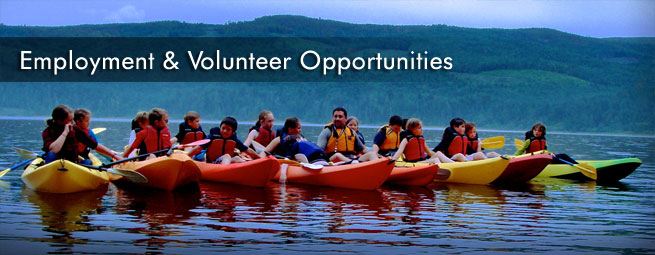 Employment and Volunteer Opportunities Banner