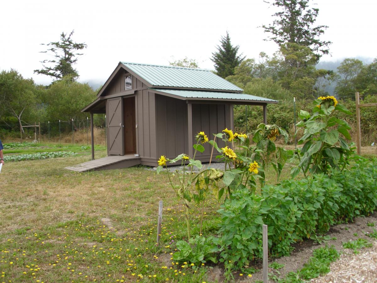 Community Garden Shed