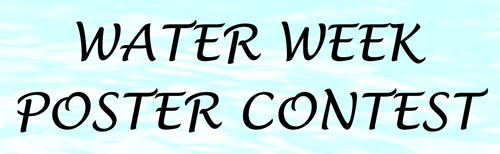 Water Week Poster Contest Headline