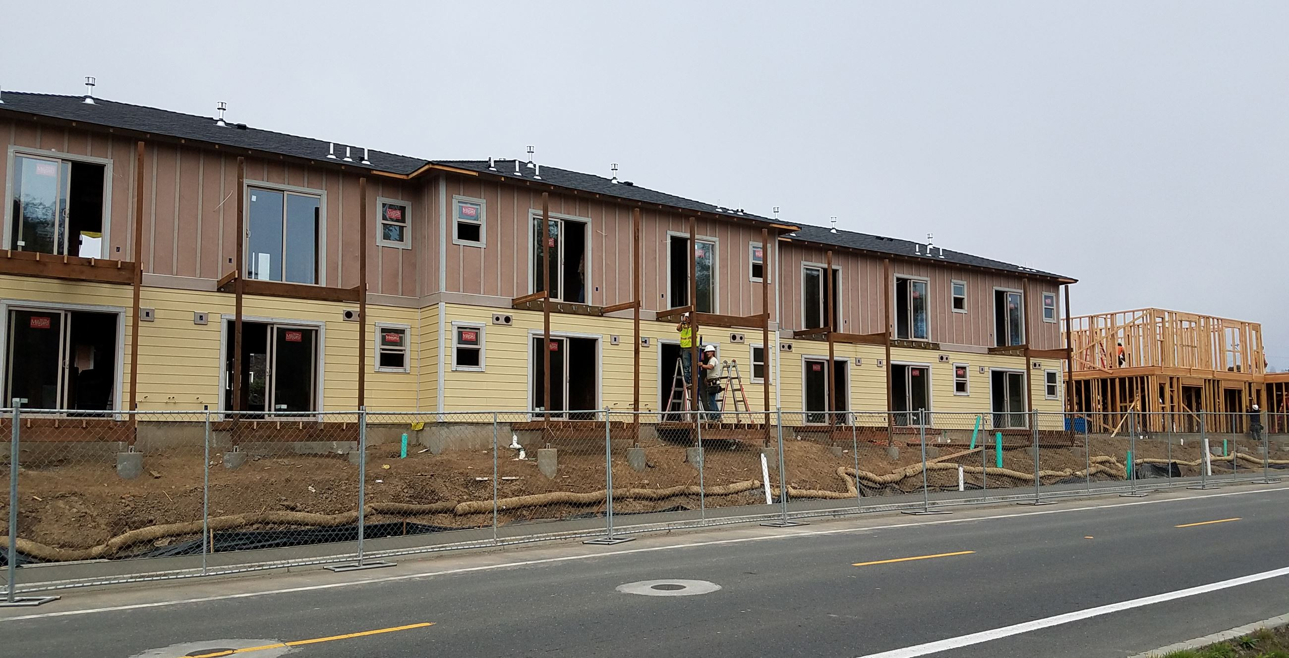 Sunset Terrace under Construction 10-2017