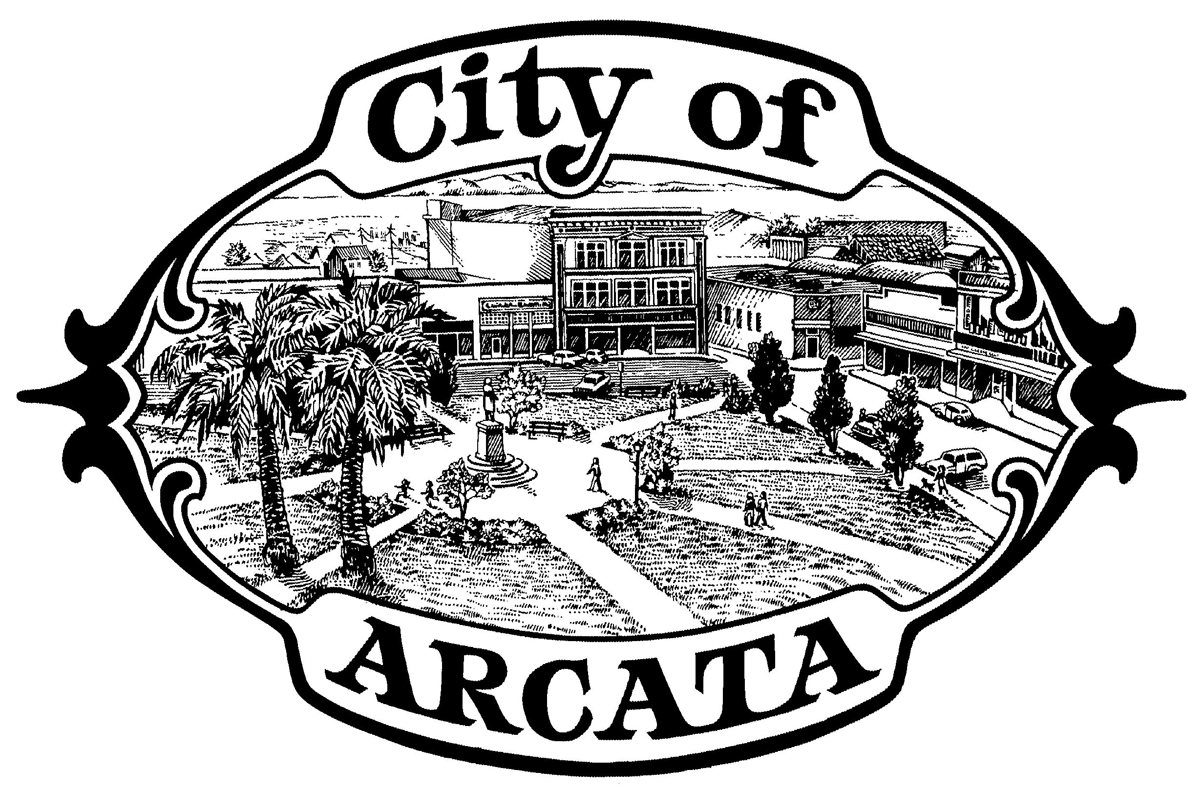 City of Arcata BW Logo
