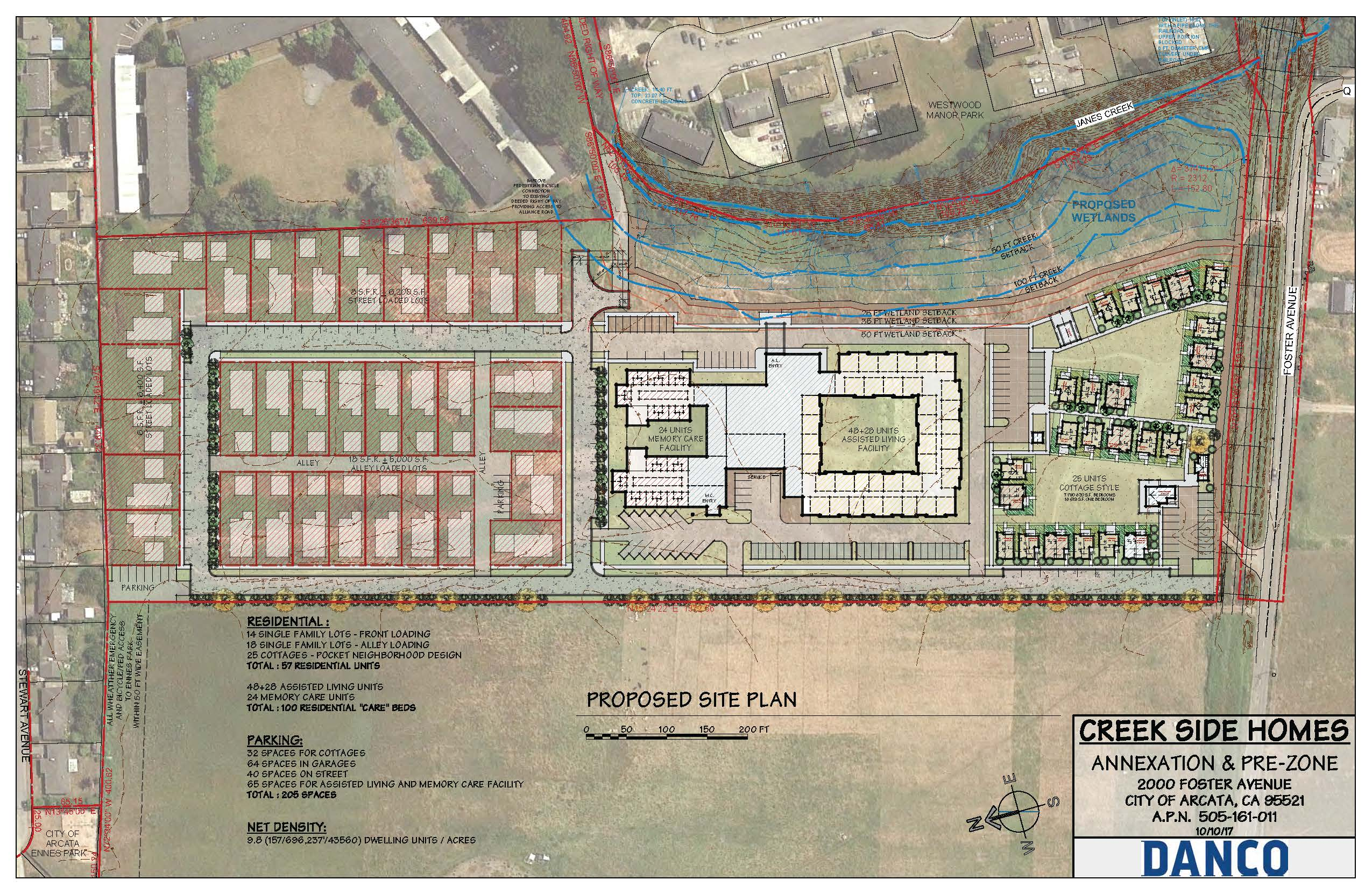 Creek Side Revised Site Plan 10.10.17 Opens in new window